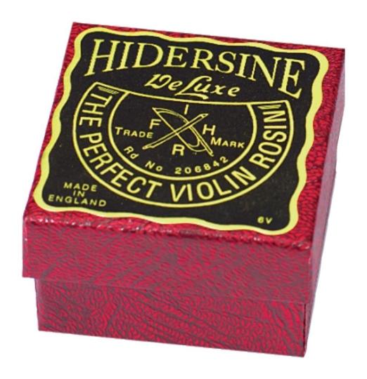 Hidersine de luxe, Resina para Violín/Viola