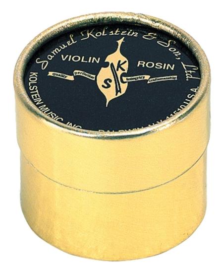 Samuel Kolstein, Resina para Violín