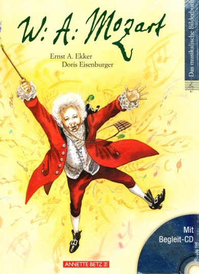 W. A. Mozart, Bilderbuch mit CD