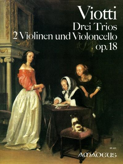 Viotti, Drei Trios op. 18