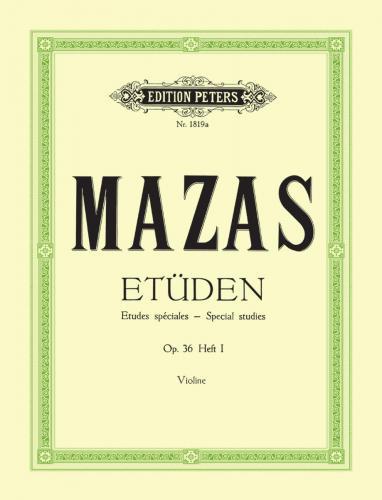 Mazas, Etüden Op. 36, Heft 1