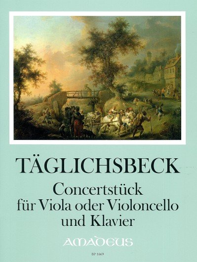 Täglichsbeck, Concertstück in c-moll op. 49