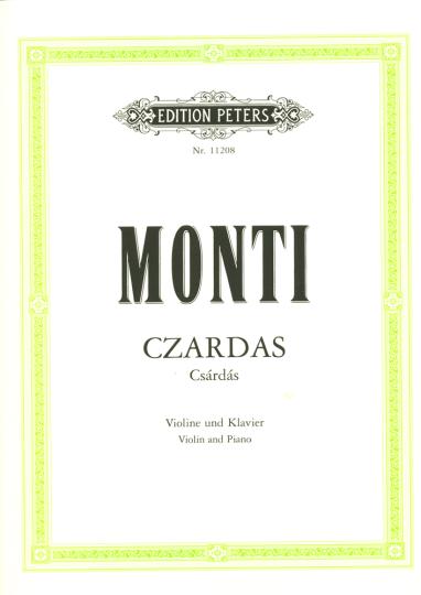 Monti, Czardas