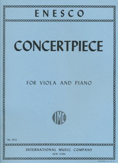 Enescu, Konzert Piece