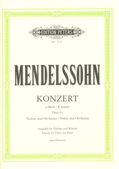 Mendelssohn, Konzert Opus 64