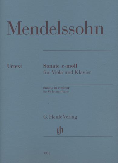 Mendelssohn, Sonate c-moll