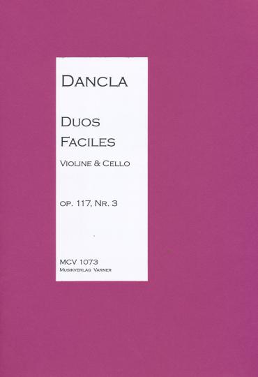 Duo für Violine und Cello, Charles Dancla, 1717-1809 -