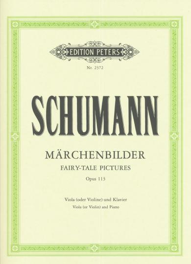 Schumann, Märchenbilder, Opus 113