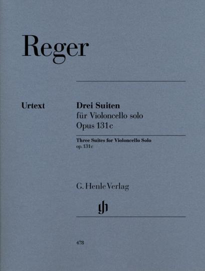 Reger, Drei Suiten für Violoncello, Opus 131 c