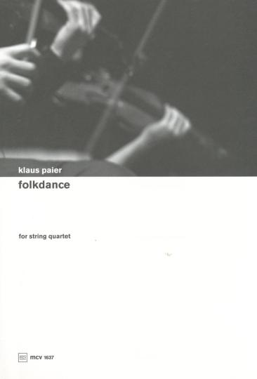 Klaus Paier, Folkdance für Streichquartett