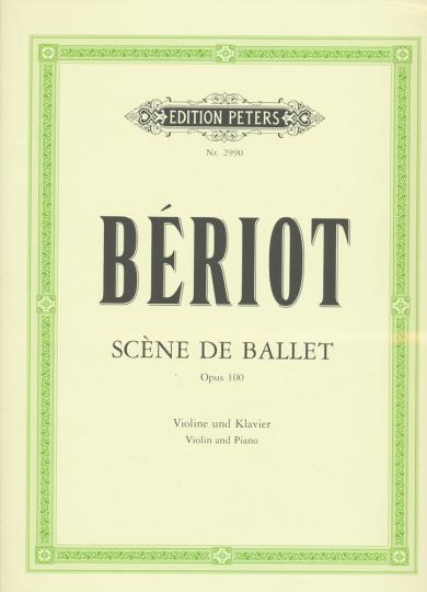 Bériot, Scène de ballet, Opus 100