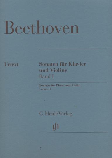 Beethoven, Sonaten für Klavier und Violine; Band I