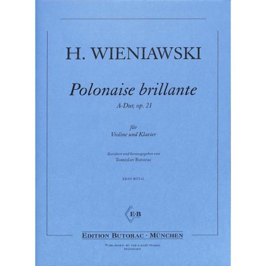 H. Wieniawski, Polonaise brillante 2, A-Dur, op. 21