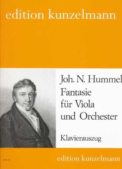 Hummel, Fantasie für Viola und Orchester
