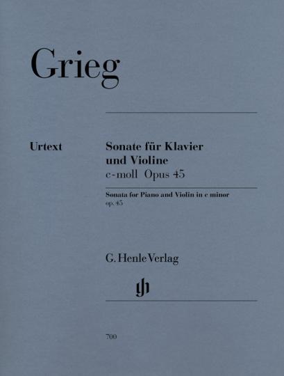 Grieg, Violinsonate c-moll op. 45