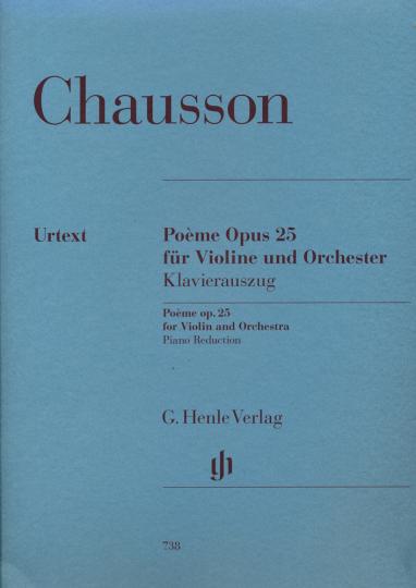 Chausson, Poème Opus 25