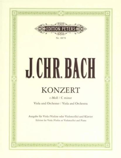 J. Chr. Bach, Konzert C-Moll