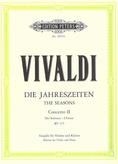 Vivaldi,  Konzert Die Jahreszeiten - Der Sommer
