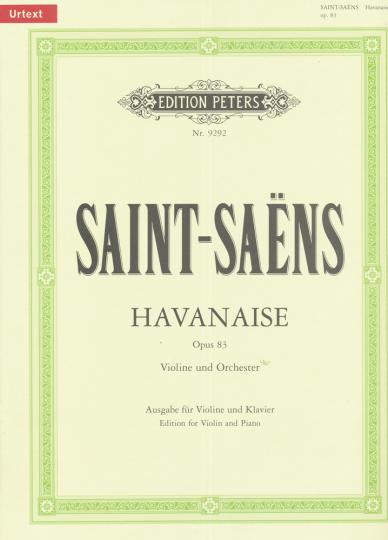 Saint-Saens, Havanaise, Opus 83