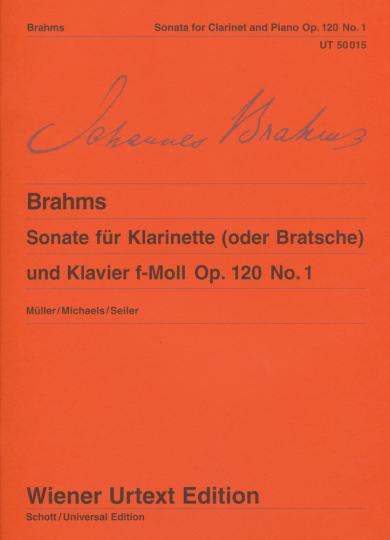 Brahms, Sonate für Bratsche und Klavier, Es-Dur, op. 120, Nr. 1