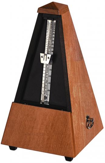 Wittner Metrónomo Pirámide, color caoba