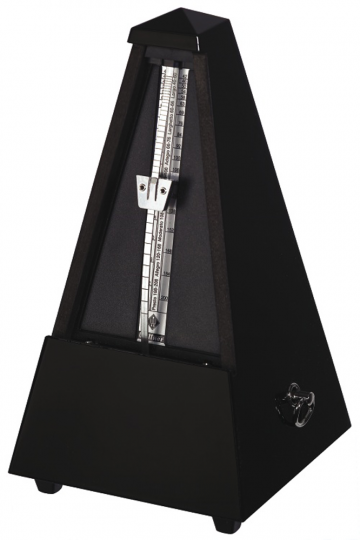 Wittner Metrónomo Pirámide, negro pulido