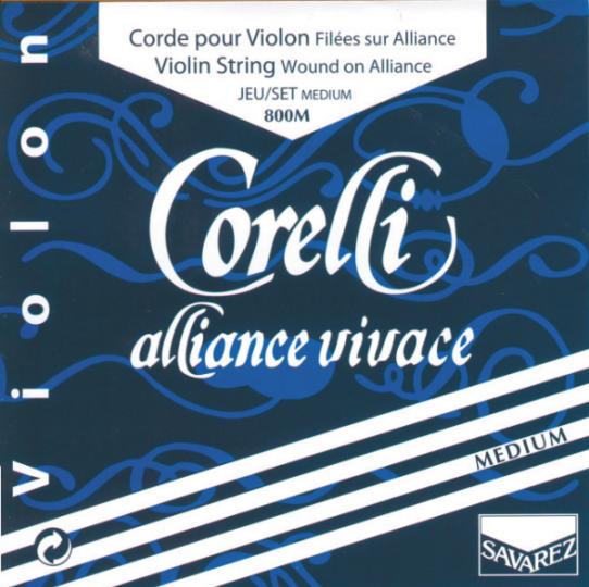 CORELLI Alliance Juego Violín con Cuerda-Mi Bola