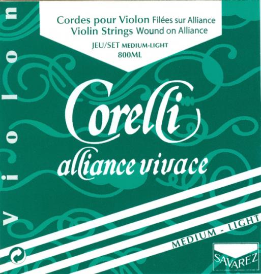 CORELLI Alliance Cuerda-Mi Violín bola, med.light