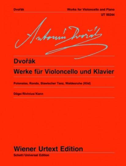 Antonín Dvorák Werke für Violoncello und Klavier