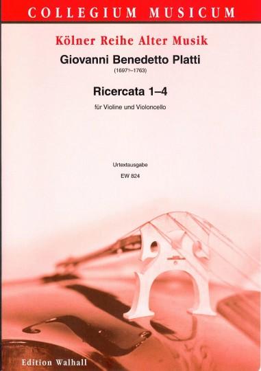 Platti, Giovanni Benedetto (1697- 1763): Ricercata 1 - 4