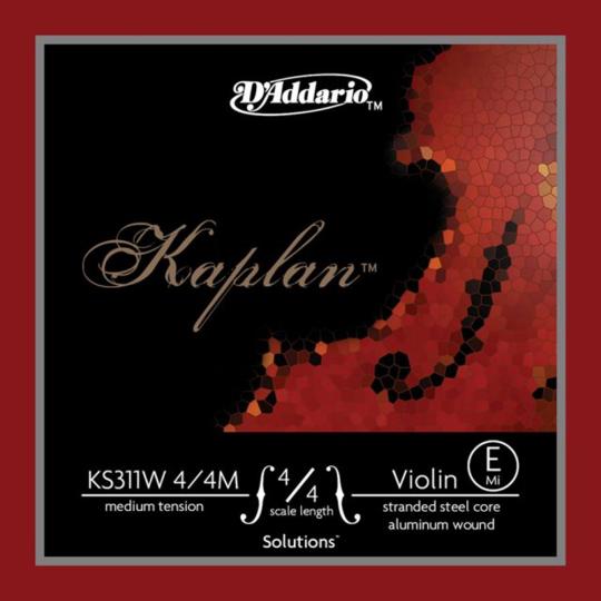 D´ADDARIO Kaplan Solutions Violín Cuerda-Mi, medio