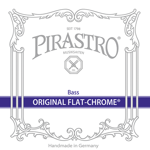 PIRASTRO Original Flat-Chrome Contrabajo Juego Orchestra