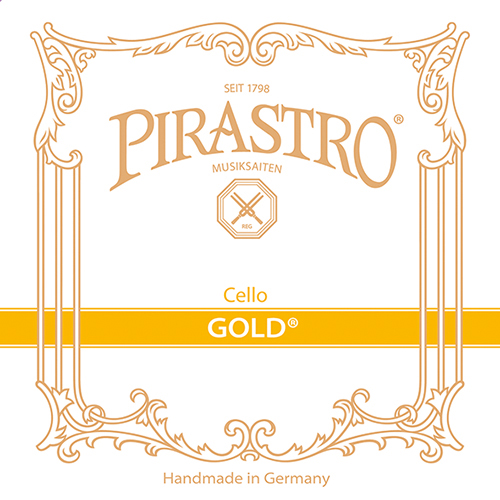 PIRASTRO Gold para Viollonchelo cuerda G medium