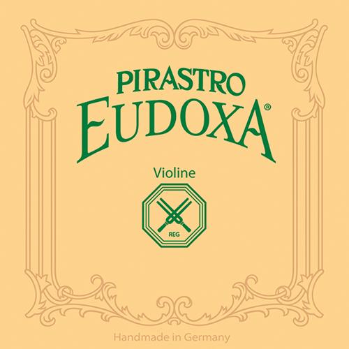 PIRASTRO Eudoxa Violín Cuerda-Mi bola, descubierto, medio