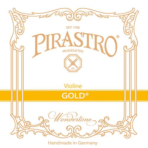 PIRASTRO oro Violín Cuerda-Re Tripa, medio