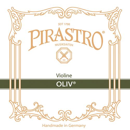 PIRASTRO Oliv Violín Cuerda-Mi Oro bola