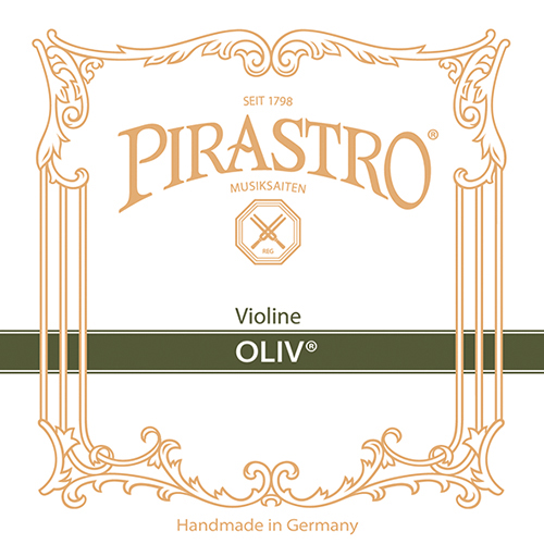 PIRASTRO Oliv Violín Cuerda-Mi Oro lazo, medio