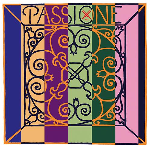 Pirastro Passione Violín Cuerda-Mi bola, medio
