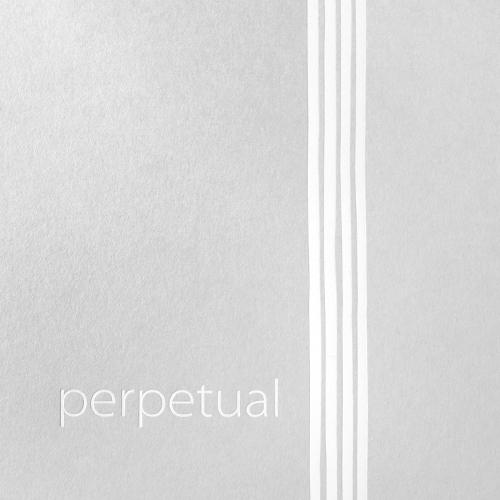 Pirastro Perpetual Juego Violín Cuerda-Mi Bola , medio