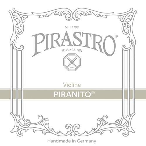 PIRASTRO Piranito Violín Cuerda-Mi 3/4 - 1/2