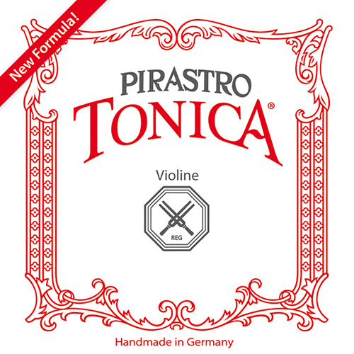 PIRASTRO Tonica Violin Cuerda-Mi Silverysteel Bola, fuerte