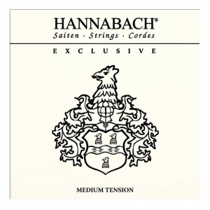 Hannabach Klassikgitarrensaiten Exclusive Serie, medium tension