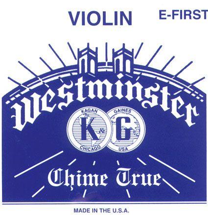WESTMINSTER Violín Cuerda-Mi lazo