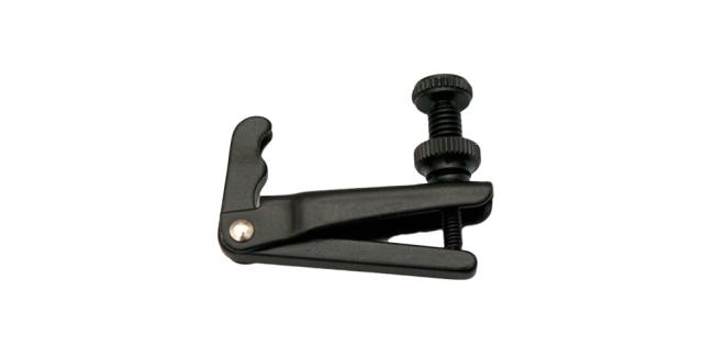 Fix Afinador 1/2-1/4 Violín para cuerdas de nylon, negro