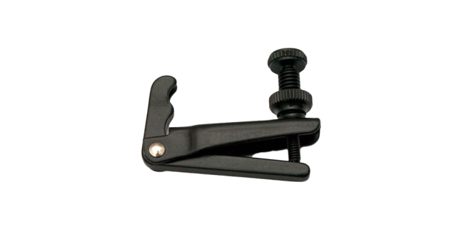Fix Afinador 1/2-1/4 Chelo para cuerdas de acero, negro