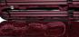 mirada de carbono negro / rojo